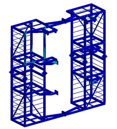 Structural Assessment of Tower Subjected to Wind and Wave Loads