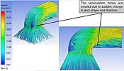 Optimization of Fluid Flow Inside Ducts