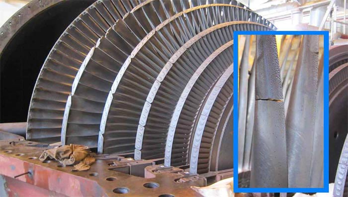 CAE as an Assistive Tool for Non-Destructive Testing of Turbine Blades